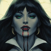 Sink Your Fangs into the Vampirella #2 Fine Art Print and Gallery Wrapped Canvas by Stanley 'Artgerm' Lau