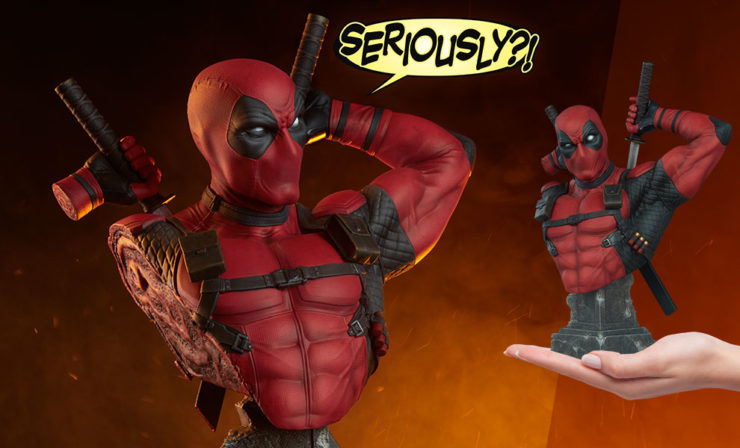 The Deadpool Bust Shows Off More Wade Wilson Than You Ever Wanted to See!