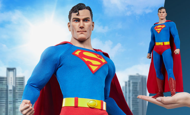 The Superman Sixth Scale Figure is Here to Save the Day in Your DC Comics Collection