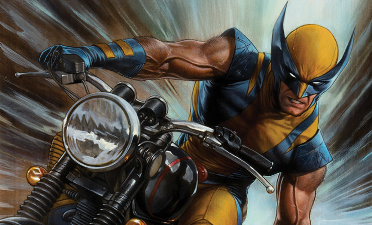 The Claws Come Out in the Return of Wolverine Fine Art Print by Adi Granov