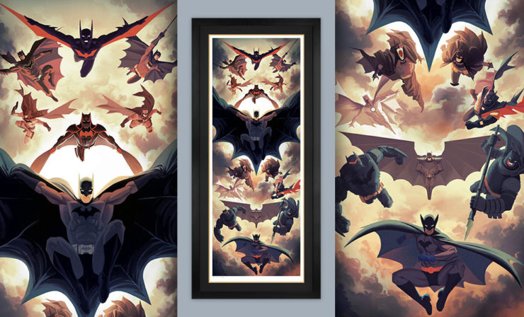 Celebrate 80 Years of the Caped Crusader with the Batman Legacy Fine Art Print by Kris Anka