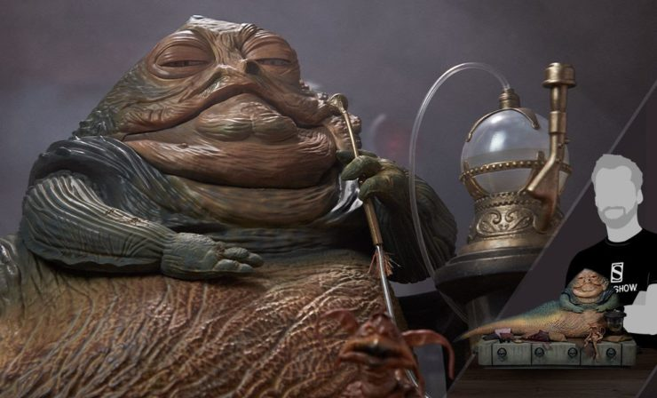 Jabba the Hutt and Throne Deluxe Set Sixth Scale