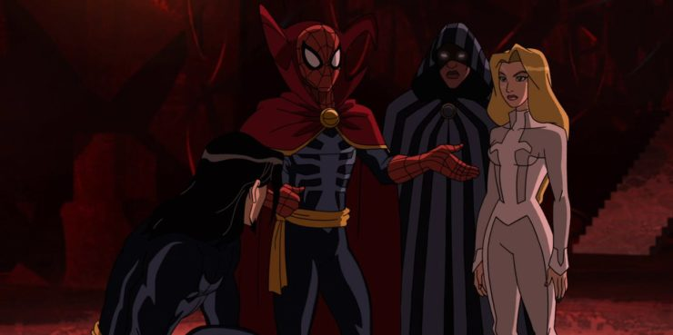 Cloak & Dagger and Spider-Man Crossover