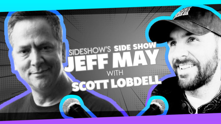 X-Men and Happy Death Day Writer Scott Lobdell Joins Jeff May on Sideshow's Side Show