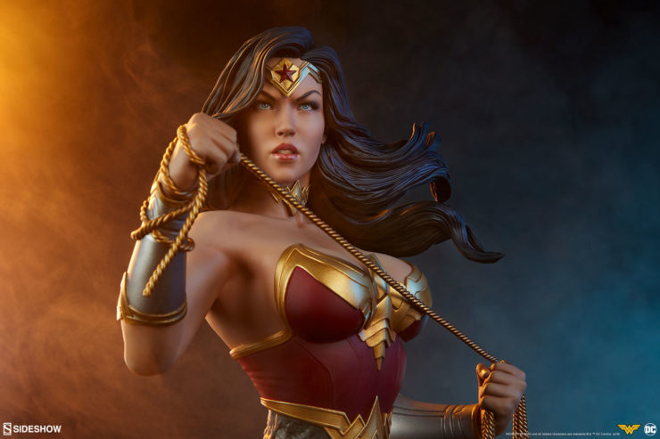 Lasso the Wonder Woman Bust into Your Justice League Collectibles