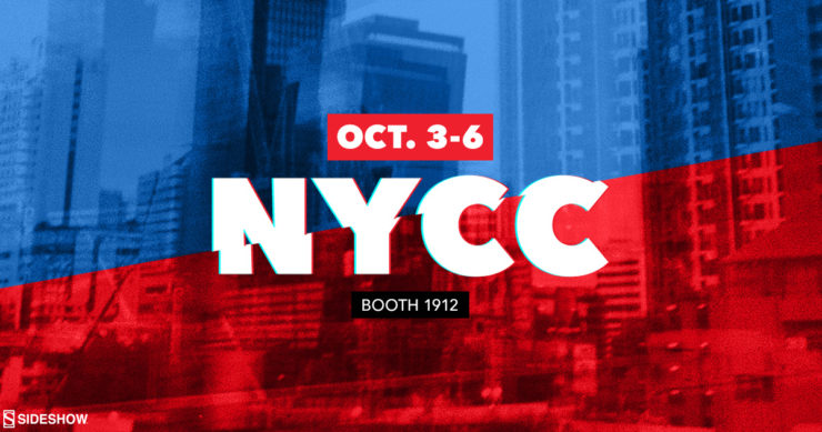 Let Your Geek Sideshow at Booth #1912 at New York Comic Con 2019!