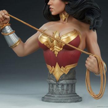 Wonder Woman Bust Base View
