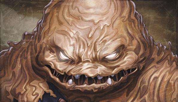 Batman's Creepiest Foes- Clayface