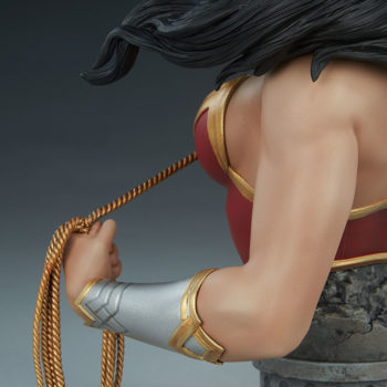 Wonder Woman Bust Left Arm Detail
