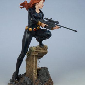 Black Widow Avengers Assemble Statue Open Lit Turnaround 2
