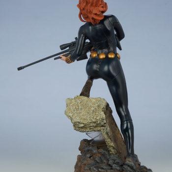 Black Widow Avengers Assemble Statue Open Lit Turnaround 3