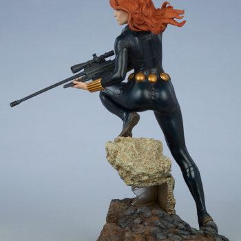 Black Widow Avengers Assemble Statue Open Lit Turnaround 4