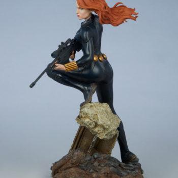Black Widow Avengers Assemble Statue Open Lit Turnaround 5