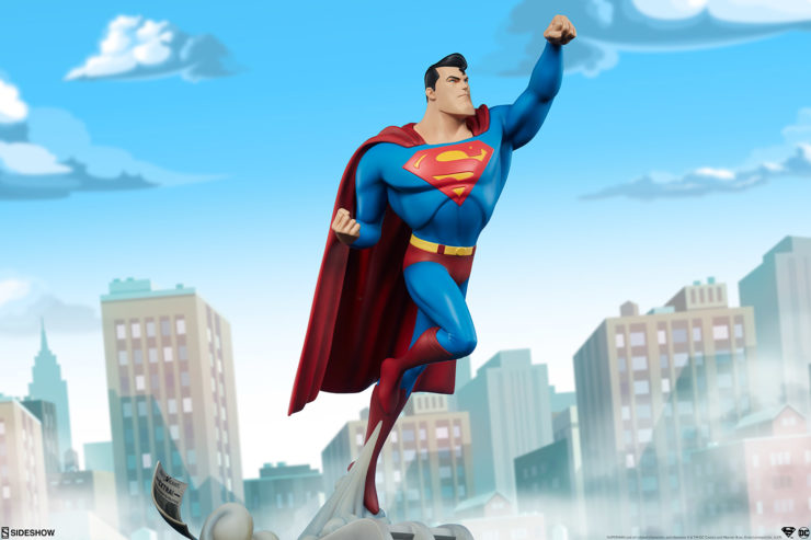 It's a Bird! It's a Plane! It's New Photos of the Superman Statue!