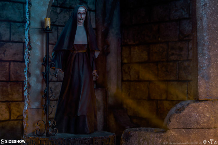 Valak is Unleashed in these New Photos of The Nun Statue