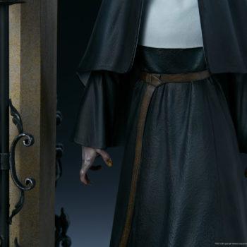 The Nun cloth closeup