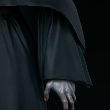The Nun left hand close up