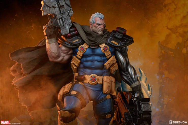 Fight for the Future with these New Photos of the Cable Premium Format Figure!