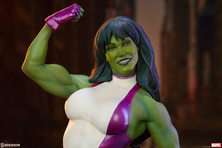 She-Hulk Statue from the Adi Granov Artist Series