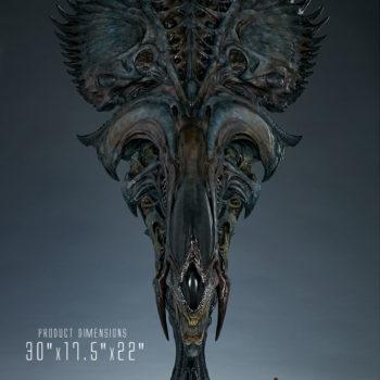 """Alien Queen Mythos Legendary Scale™ Bust Measurements- 30"""" h x 17.5"""" W x 22"""" D"""