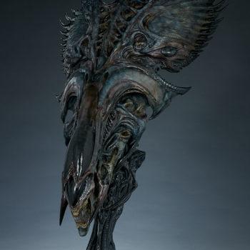 Alien Queen Mythos Legendary Scale™ Bust Open Lit Turnaround 1