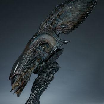 Alien Queen Mythos Legendary Scale™ Bust Open Lit Turnaround 2