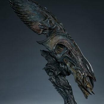 Alien Queen Mythos Legendary Scale™ Bust Open Lit Turnaround 4
