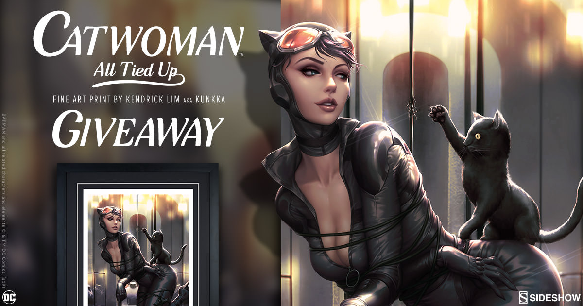 Catwoman: All Tied Up Print Giveaway