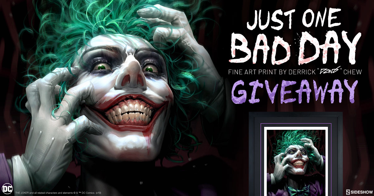 Just One Bad Day Fine Art Print Giveaway