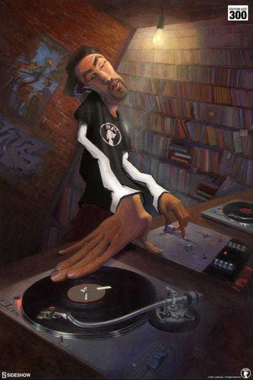 BUA's The DJ Fine Art Print