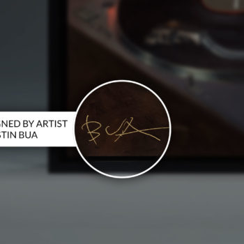 BUA's The DJ Gallery Wrapped Canvas Hand-Signed