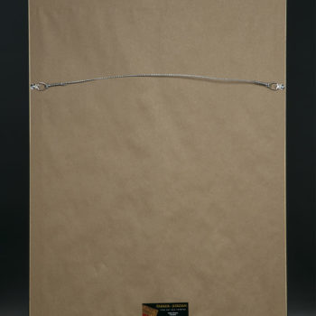 BUA's The DJ Gallery Wrapped Canvas Back of Canvas with Hanging Wire