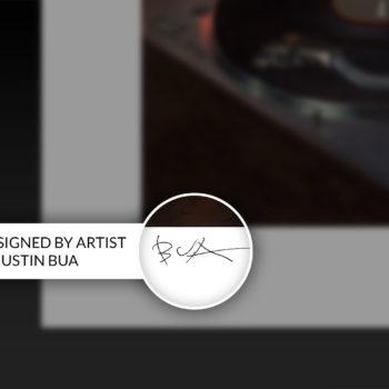 BUA's The DJ Fine Art Print Hand-Signed on Unframed Edition