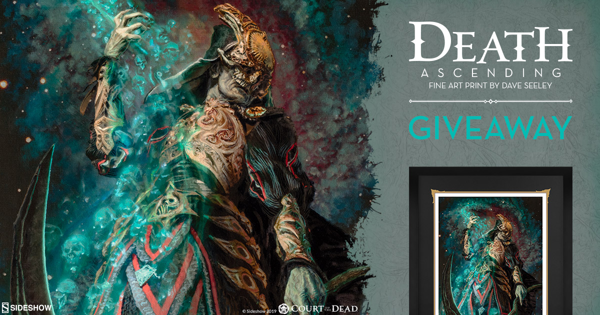 Death Ascending Fine Art Print Giveaway