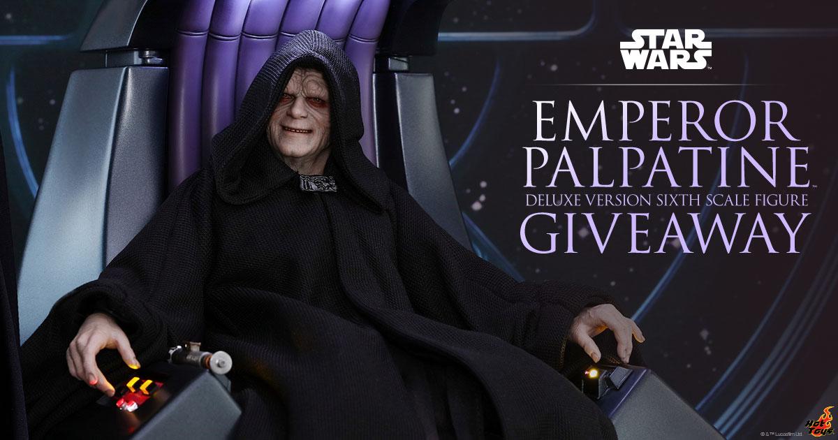 Emperor Palpatine Deluxe Version Giveaway