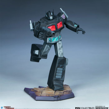 Nemesis Prime Classic Scale Statue by PCS Collectibles Open Lit Turnaround 7