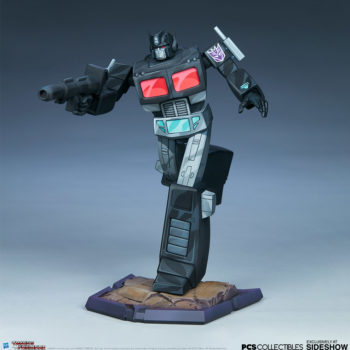 Nemesis Prime Classic Scale Statue by PCS Collectibles Open Lit Turnaround 2