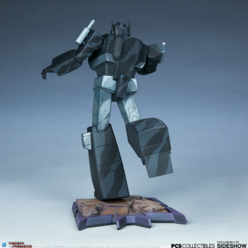 Nemesis Prime Classic Scale Statue by PCS Collectibles Open Lit Turnaround 4