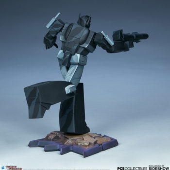 Nemesis Prime Classic Scale Statue by PCS Collectibles Open Lit Turnaround 5