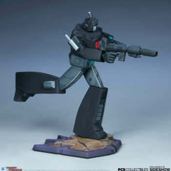 Nemesis Prime Classic Scale Statue by PCS Collectibles Open Lit Turnaround 6