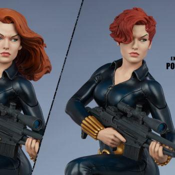 Black Widow Avengers Assemble Statue Exclusive Edition Portrait Comparison