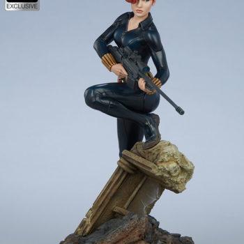 Black Widow Avengers Assemble Statue Exclusive Edition Short Haired Portrait