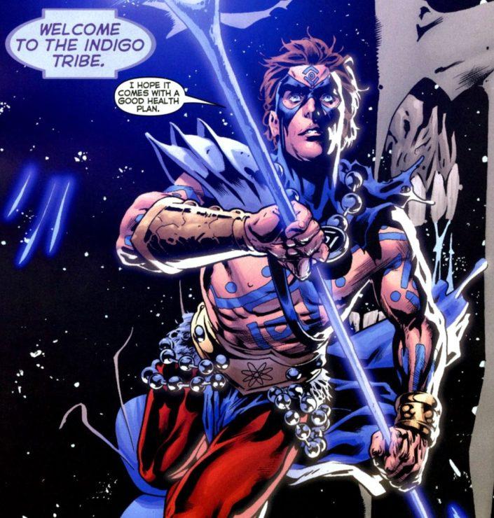Indigo Lantern Atom