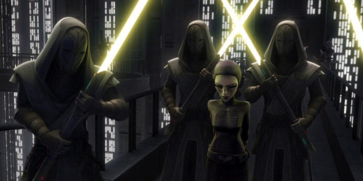 Jedi Temple Guards Lightsabers