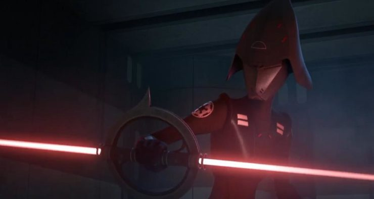 Seventh Sister and the Inquisitors Lightsabers