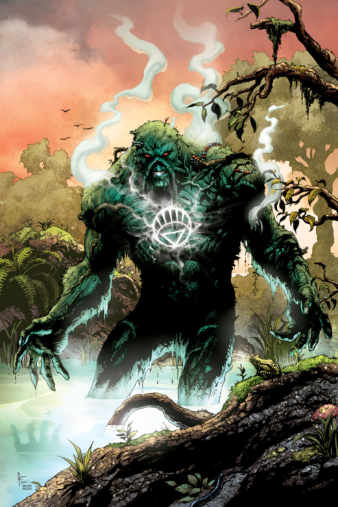 White Lantern Swamp Thing