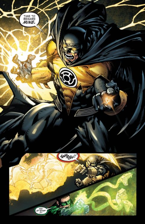Yellow Lantern Batman
