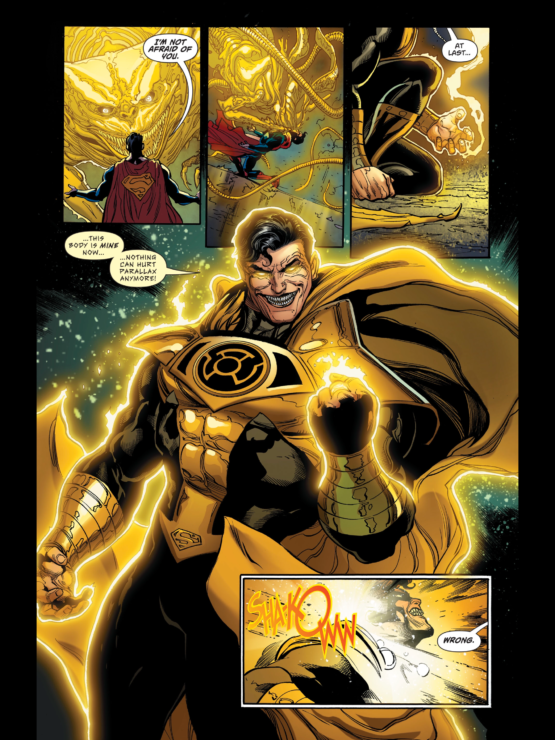 Yellow Lantern Superman