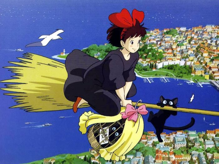 Best Witch Movies- Kiki's Delivery Service