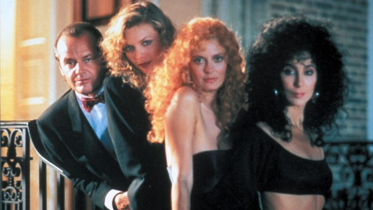 Best Witch Movies- The Witches of Eastwick